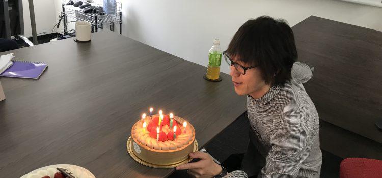 林先生お誕生日おめでとうございます!