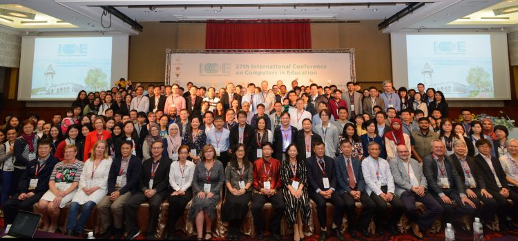 27th International Conference on Computers in Education in 台湾