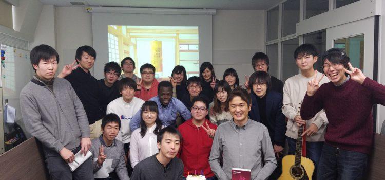 瀬田先生 Happy Birthday!!